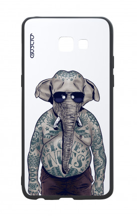 Samsung A5 2017 White Two-Component Cover - WHT Elephant Man