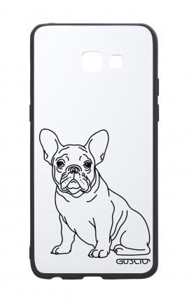 Samsung A5 2017 White Two-Component Cover - French Bulldog