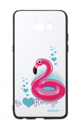 Cover Bicomponente Samsung A5 2017 - We love Flamingo