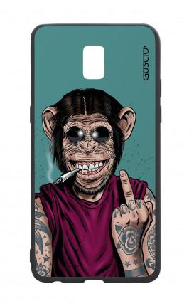 Cover Bicomponente Samsung J5 2017 - Scimmia felice