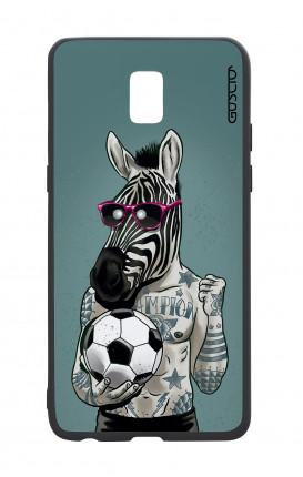 Samsung J5 2017 White Two-Component Cover - Zebra