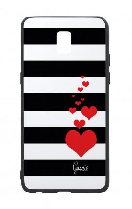 Cover Bicomponente Samsung J5 2017 - Loving Stripes