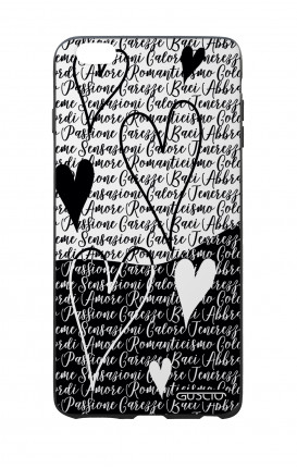Apple iPhone 6 PLUS WHT Two-Component Cover - Black & White Writings