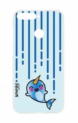 Cover HUAWEI P SMART - Narwhal Kawaii