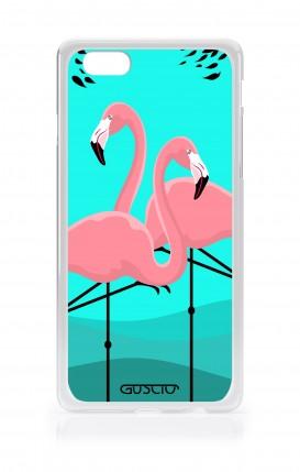 Cover Asus Zenfone4 Max ZC520KL - Flamingos