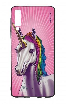 Cover Bicomponente Samsung A70 - Unicorno
