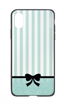 Apple iPhone X White Two-Component Cover - Romantic Tiffany