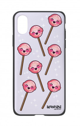 Apple iPhone X White Two-Component Cover - Chupa Chups Kawaii