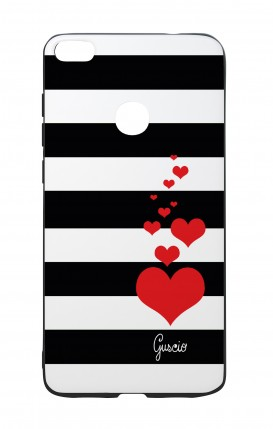 Cover Bicomponente Huawei P8Lite 2017 - Loving Stripes
