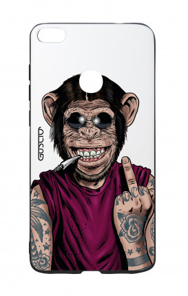 Huawei P8Lite 2017 White Two-Component Cover - WHT Monkey'salwaysHapp