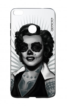 Huawei P8Lite 2017 White Two-Component Cover - WHT Marilyn Calavera