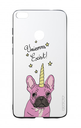 Huawei P8Lite 2017 White Two-Component Cover - WHT Unicorns Exist