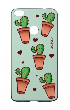 Cover Bicomponente Huawei P8Lite 2017 - Cactus Pattern
