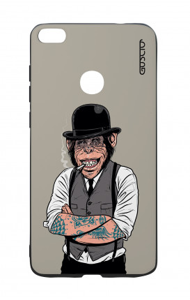 Huawei P8Lite 2017 White Two-Component Cover - Derby Monkey