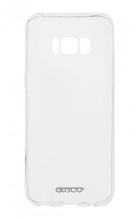 Cover Crystal Samsung S8 Trasparente - Logo
