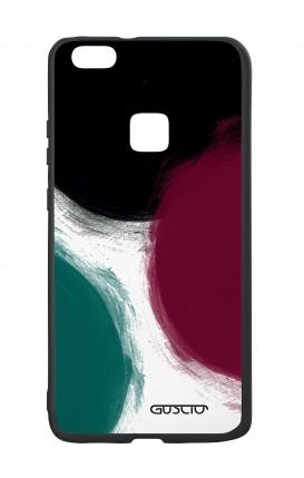 Cover Bicomponente Huawei P10Lite - Grandi pois
