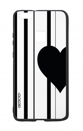 Huawei P10Lite White Two-Component Cover - Half Heart