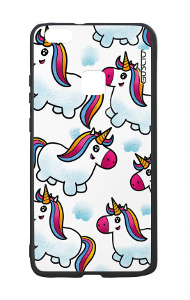 Huawei P10Lite White Two-Component Cover - WHT Unicorn clouds