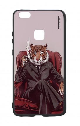 Cover Bicomponente Huawei P10Lite - Tigre elegante