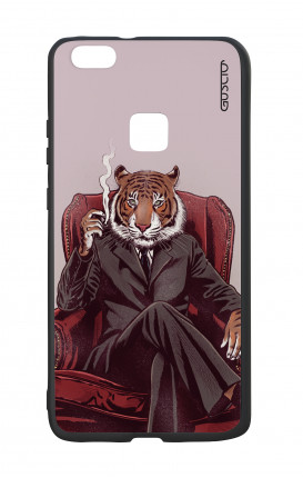 Huawei P10Lite White Two-Component Cover - Elegant Tiger