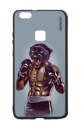 Huawei P10Lite White Two-Component Cover - Boxing Panther