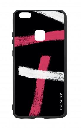 Cover Bicomponente Huawei P10Lite - Fantasia su nero