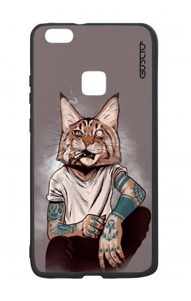 Cover Bicomponente Huawei P10Lite - Lince Tattoo