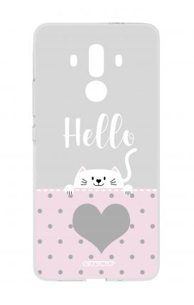 Cover HUAWEI Mate 10 PRO - Hello Cat