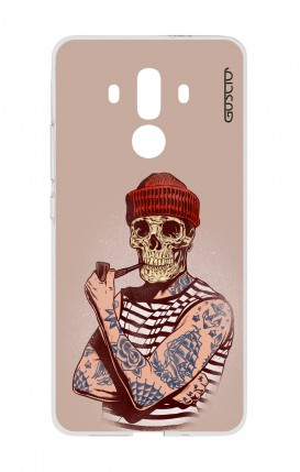 Cover HUAWEI Mate 10 PRO - Skull Sailor with Red Cup