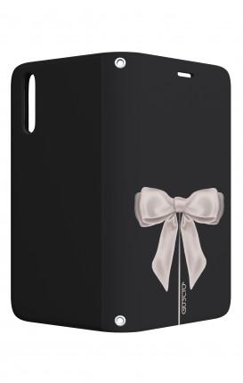 Case STAND VStyle Huawei P30 - Satin White Ribbon