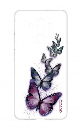 Cover TPU HUAWEI Mate 10 PRO - Volo di farfalle