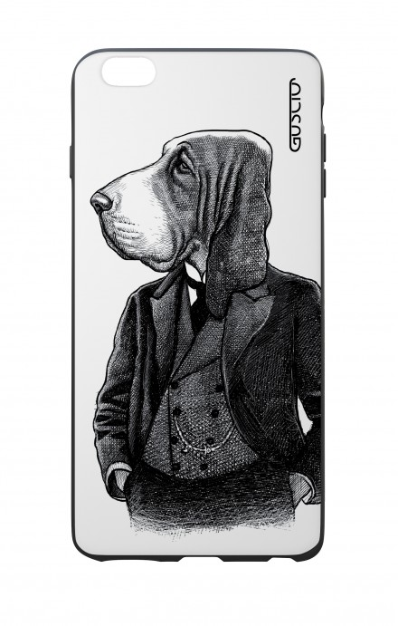 Apple iPhone 6 WHT Two-Component Cover - Dog in waistcoat