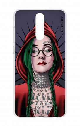 Cover HUAWEI Mate 10 Lite - Cappuccetto rosso tatuata