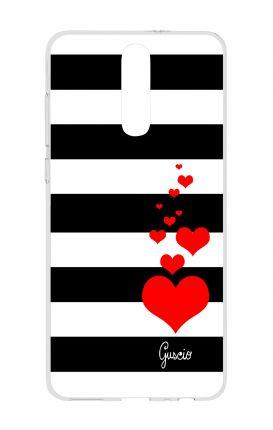 Cover TPU HUAWEI Mate 10 Lite - Loving Stripes