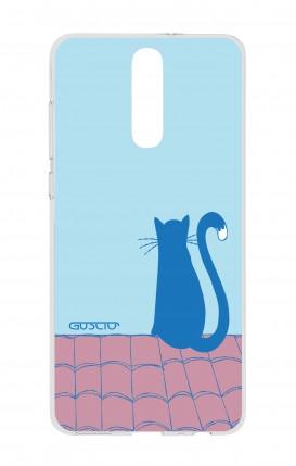 Cover HUAWEI Mate 10 Lite - il gatto sul tetto