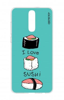 Cover HUAWEI Mate 10 Lite - I Love Sushi