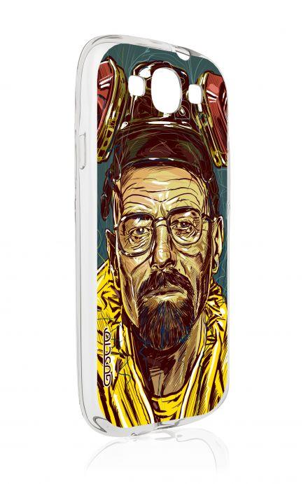 Cover Samsung Galaxy S3 GT i9300 - Mr White