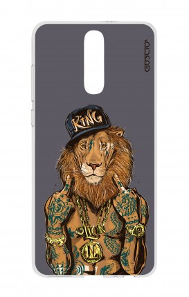 Cover HUAWEI Mate 10 Lite - Lion King grigio