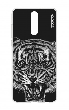 Cover TPU HUAWEI Mate 10 Lite - Tigre nera