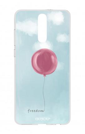 Cover TPU HUAWEI Mate 10 Lite - palloncino della libertà