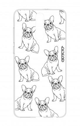 Cover HUAWEI Mate 10 Lite - Bulldog francese pattern