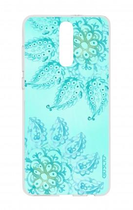 Cover HUAWEI Mate 10 Lite - Mandala azzurro