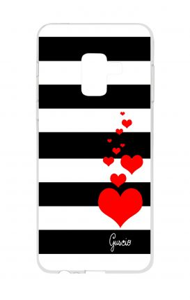 Cover TPU Samsung A8 A5 2018 - Loving Stripes