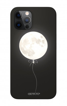 """Soft Touch Case Apple iPhone 12 6.1"""" - Moon Balloon"""