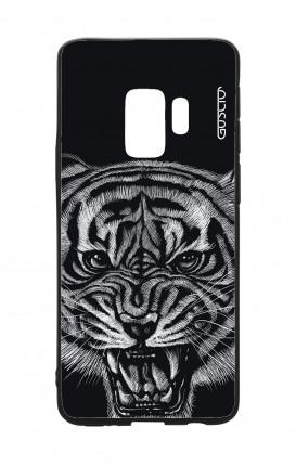 Cover Bicomponente Samsung S9Plus  - Tigre nera