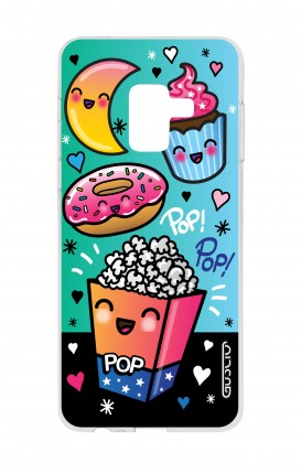 Cover Samsung A8 A5 2018 - Kawaii popcorn