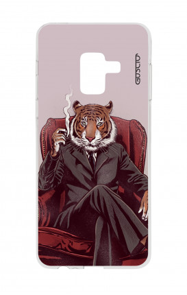 Cover TPU Samsung A8 A5 2018 - Tigre elegante