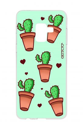 Cover Samsung A8 A5 2018 - Cactus Pattern