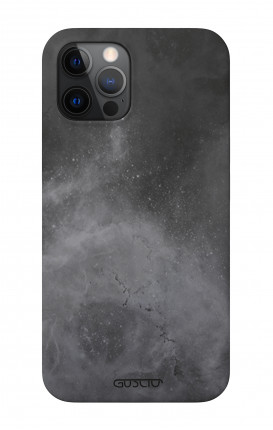 """Soft Touch Case Apple iPhone 12 6.1"""" - Grey City"""