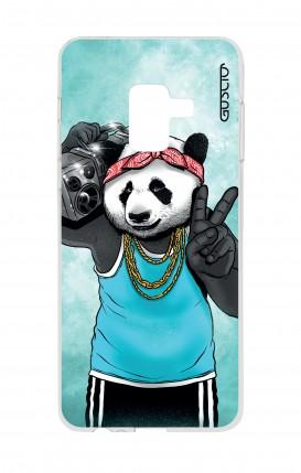 Cover Samsung A8 A5 2018 - Panda anni '80